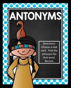 Antonyms Activity