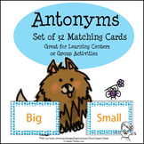 Antonyms - 32 Matching Cards