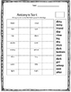 Antonyms-4 page worksheets