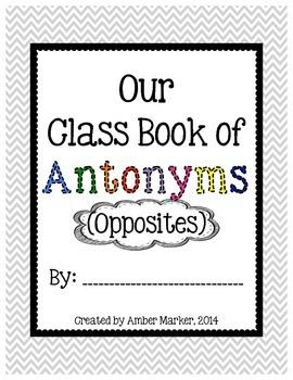 Antonyms, Antonyms Everywhere!