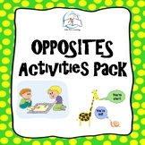 Antonyms Activities Pack