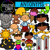 Antonyms Clipart (Adjectives) {Creative Clips Clipart}