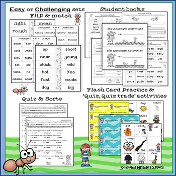 Antonyms....Activities for Independence