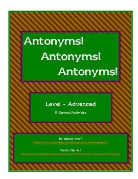Antonyms! Antonyms! Antonyms! - Advanced
