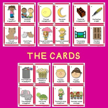 Antonyms Game (Antonyms Center)