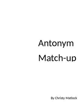 Antonyms Apple Matchup