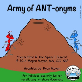 "Antonyms: ""Army of ANTonyms"""