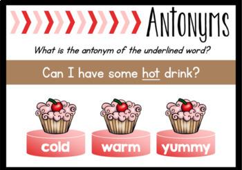 Antonyms Boom Cards