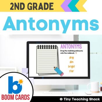Antonym Boom Cards Distance Learning
