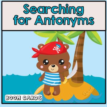 Antonyms | Boom Cards | Speech Therapy | ELA | Vocabulary