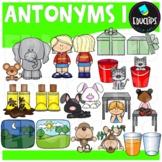 Antonyms Clip Art Bundle {Educlips Clipart}