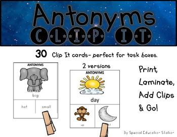 Antonyms Clip It