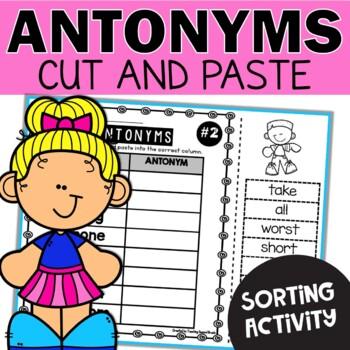 Antonyms Worksheets