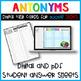 Antonyms Digital Task Cards for Google Slides Paperless Activities