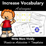 Antonyms - Matching Activities, Student Response Sheets +