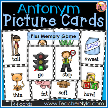 Antonyms - Flash Cards