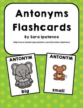 Antonyms Flashcards: Opposites