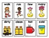 Antonyms Game Cards