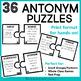 Antonyms Game | Antonyms Center | Antonyms Activities