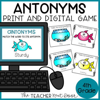 Antonyms Game | Antonyms Center | Antonyms Activity