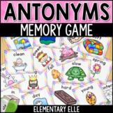 Antonyms Literacy Game {Memory Match Literacy Center}