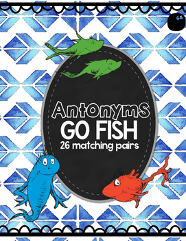 Antonyms Go Fish