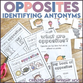 Antonyms: Identifying and finding opposites