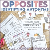 Opposites Worksheets: Identifying Antonyms