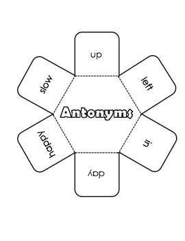 Antonyms Interactive Notebook