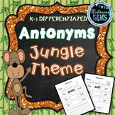 Antonyms Worksheets (No Prep)
