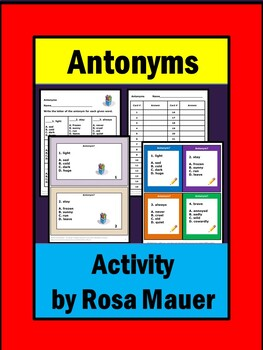 Antonyms Review