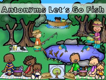 Antonyms Let's Go Fish
