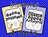 Antonyms Literacy Center {Differentiated Double Pack}
