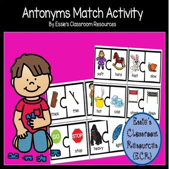 Antonyms Match Activity