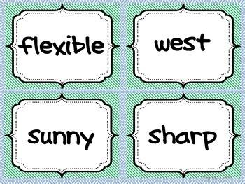 Antonyms Matching Cards Set 3