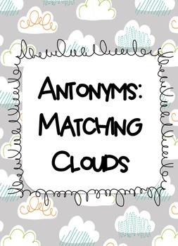 Antonyms: Matching Clouds