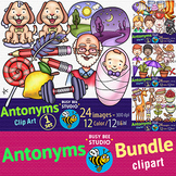 Antonyms (Opposite Words) Clipart | Bundle
