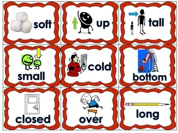 Antonyms-Opposites Literacy Station Daily 5 Word Work