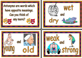 Antonyms Posters - YourResources.co.uk
