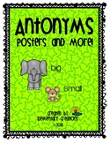 Antonyms (Posters and More!)