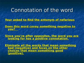 Antonyms Powerpoint