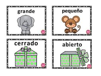 Spanish Antonyms Puzzle