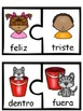 Antonyms Puzzles In Spanish