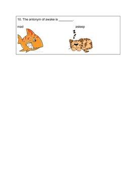 Antonyms Quiz