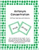 Antonyms Resource Pack