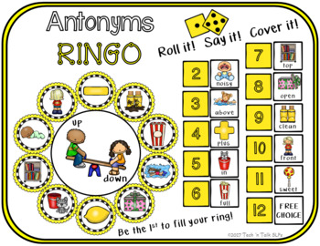 Antonyms Ringo - Roll it! Say it! Cover it!