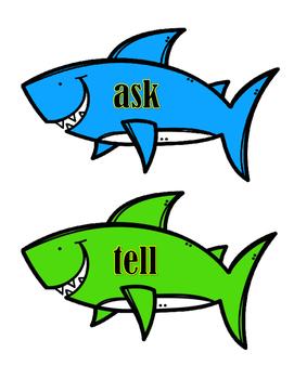 Antonyms - Sharks