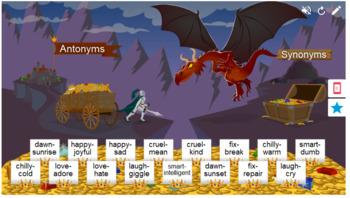 Antonyms Smart Lab Interactive Whiteboard Activities