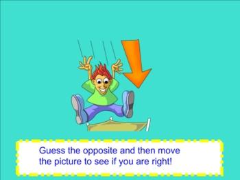 Antonyms Smartboard Lesson
