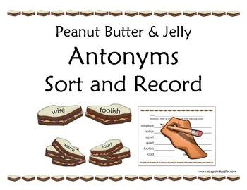 Antonyms (Sort & Record)